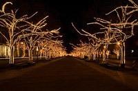 Подключение освещения зданий в Кемерове