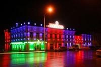 Наружное освещение: архитектурное освещение зданий и фасадов в г.Кемерово