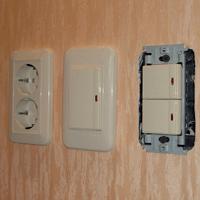 Монтаж, ремонт, замена выключателей Кемерово